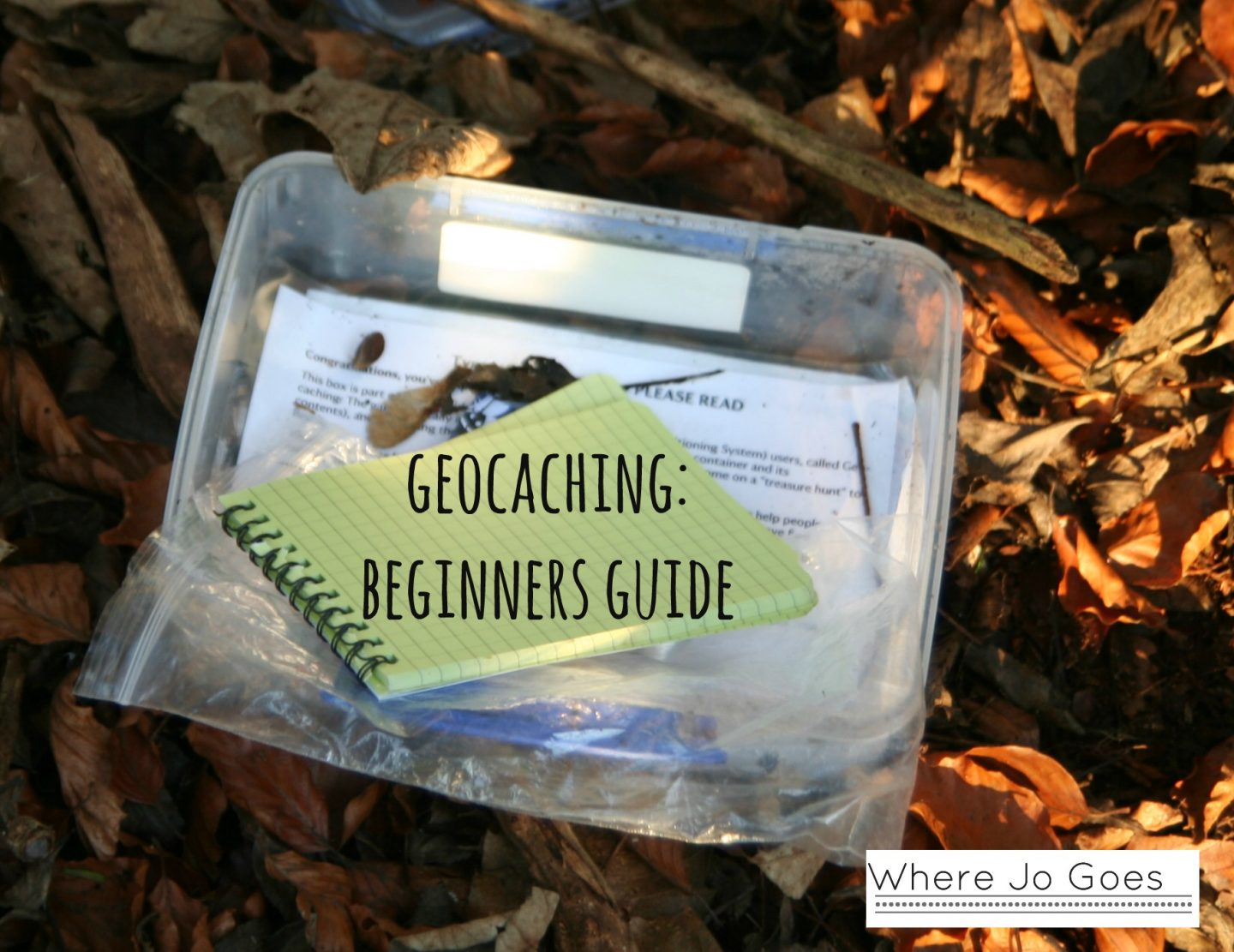GEOCACHING: FAMILY FUN FOR FREE