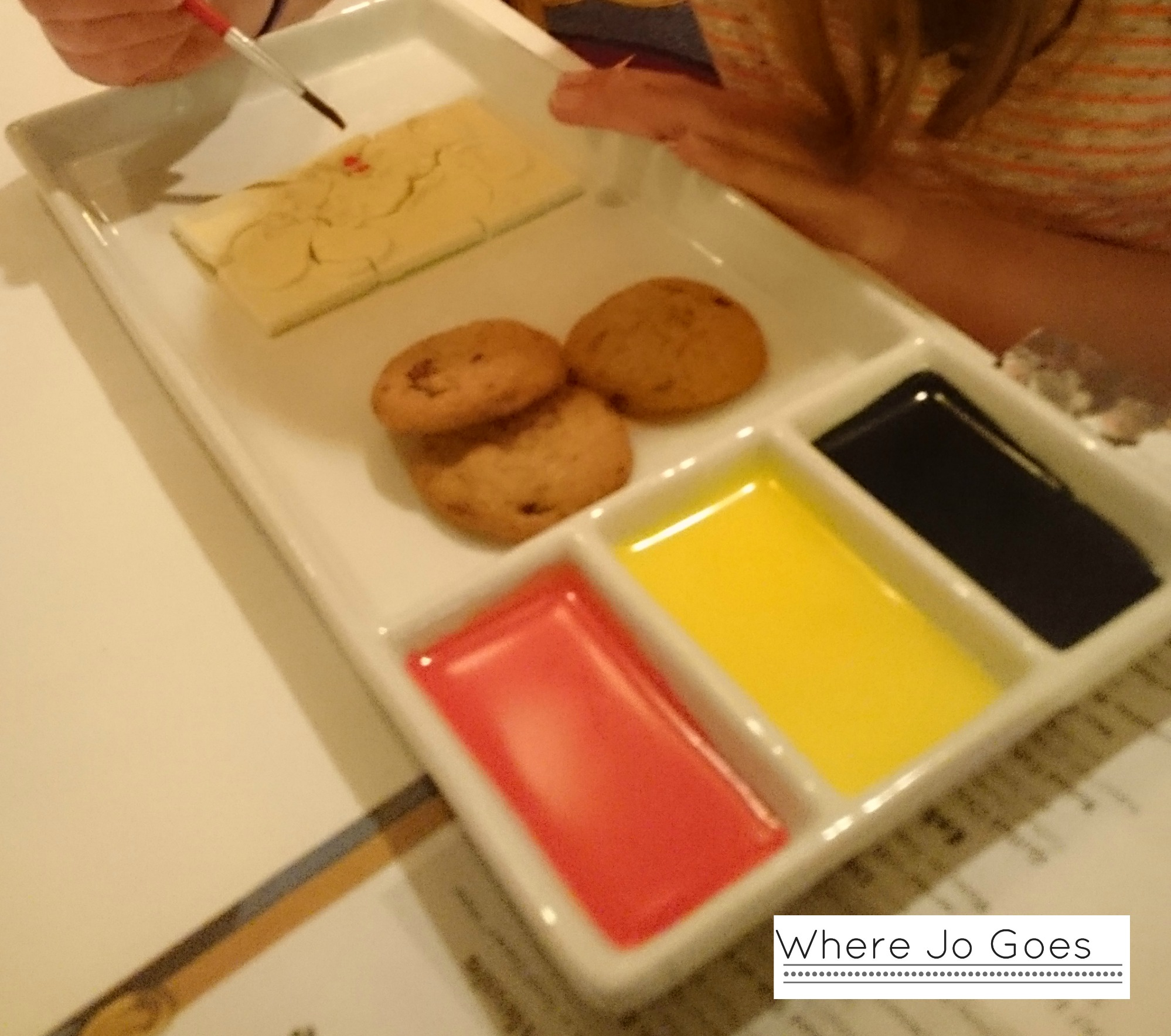 Mickey Puzzle Dessert, Yachtsman Restaurant, Disney's Yacht Club Resort, Orlando, Florida
