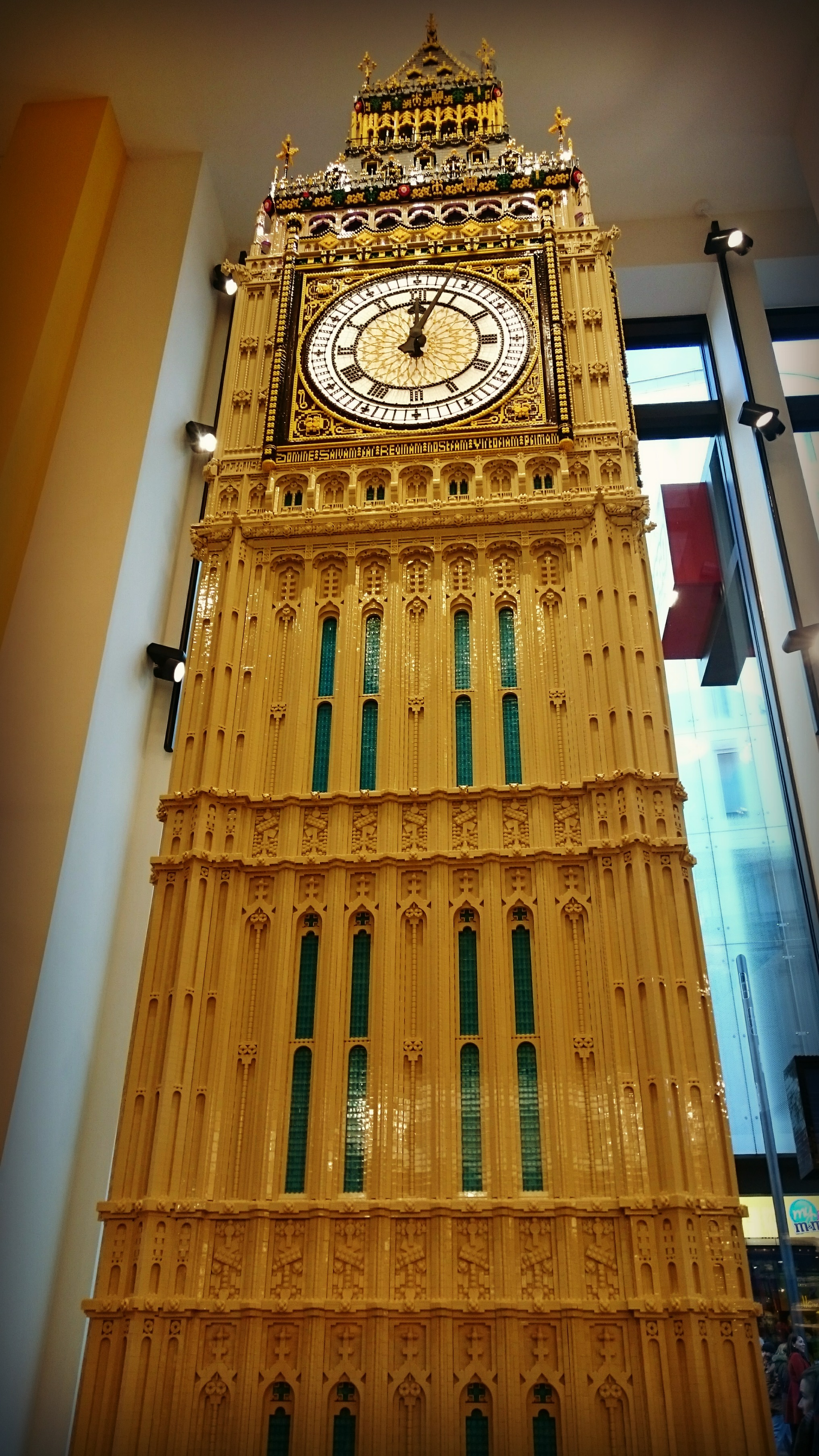 Lego Big Ben at the Lego London store