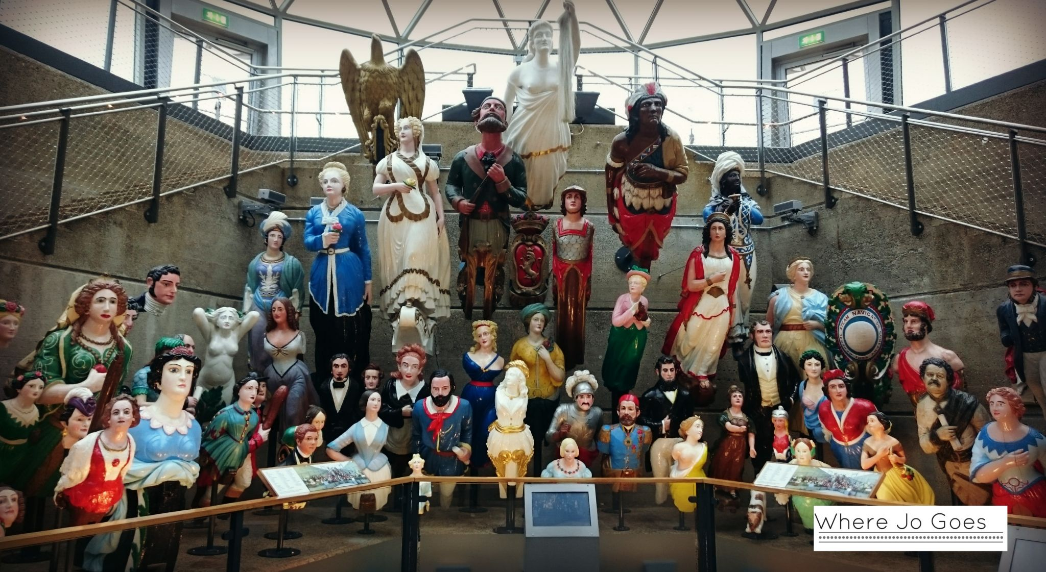 Figureheads, Cutty Sark, Greenwich