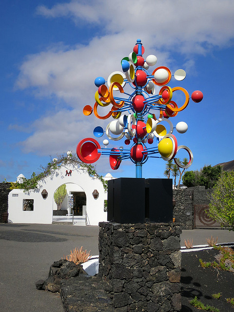 Mobile at the Manrique Foundation, Lanzarote