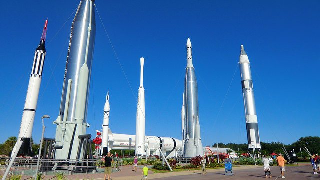 Rocket Garden, Kennedy Space Centre