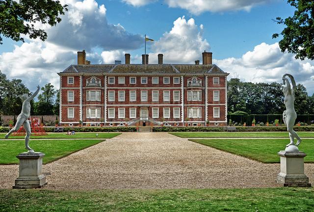 Ham House, Richmond, London. National Trust Ham House.