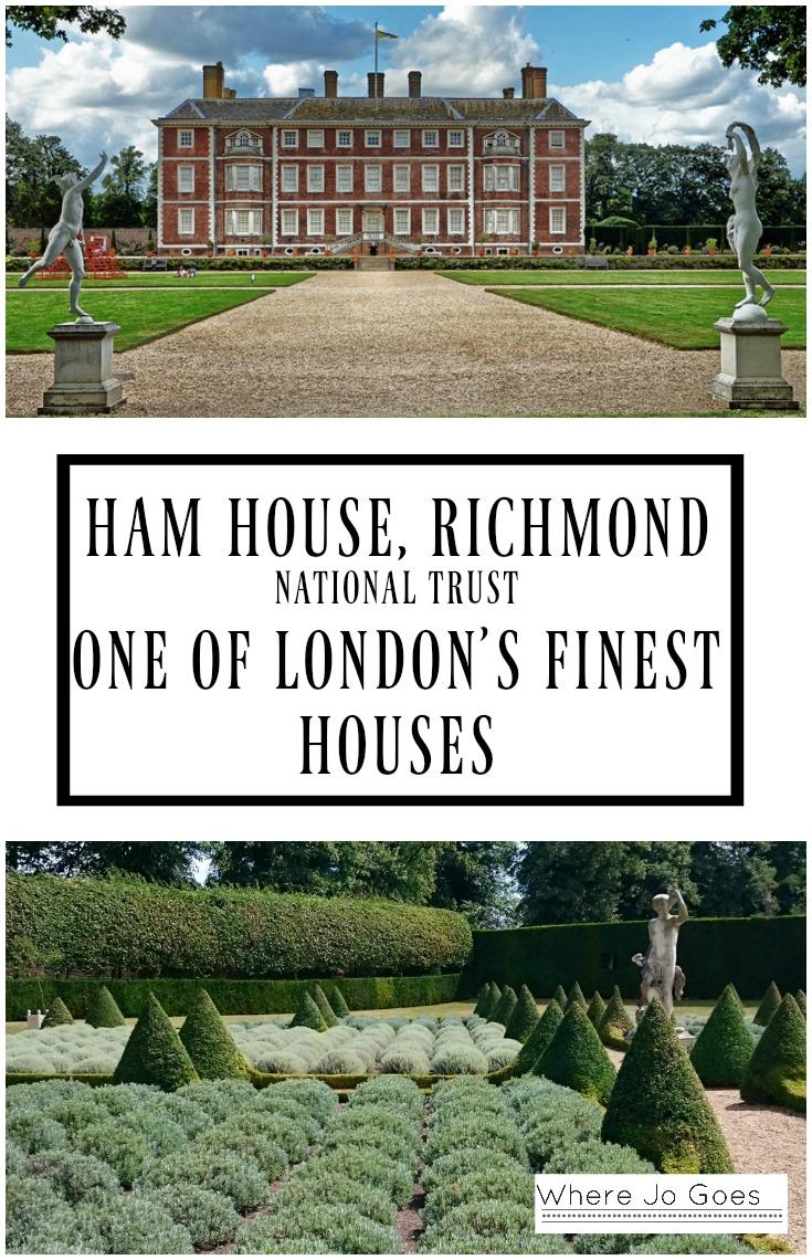 HAM HOUSE, RICHMOND, LONDON - Where Jo Goes