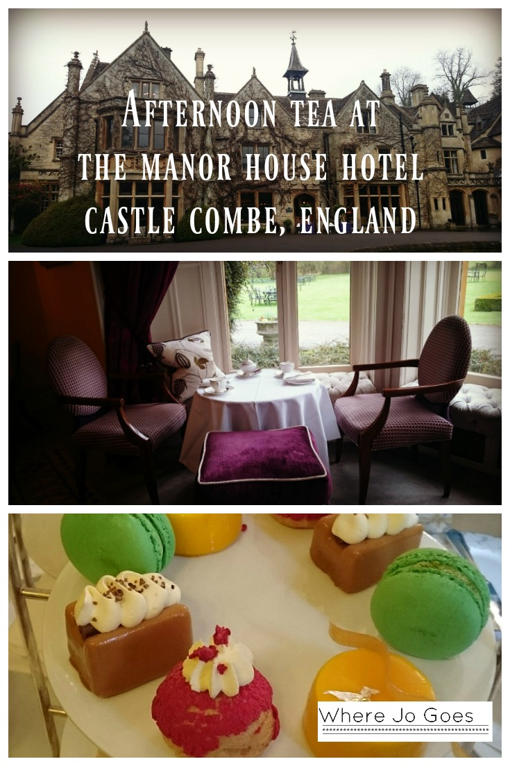 Afternoon tea, Manor House Hotel, Castle Combe