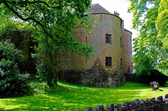 St Briavels Castle, England, UK. YHA St Briavels. Haunted Castle