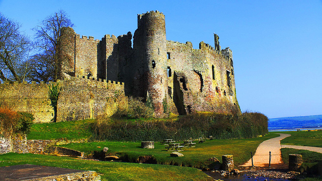 Laugharne Castle, Wales
