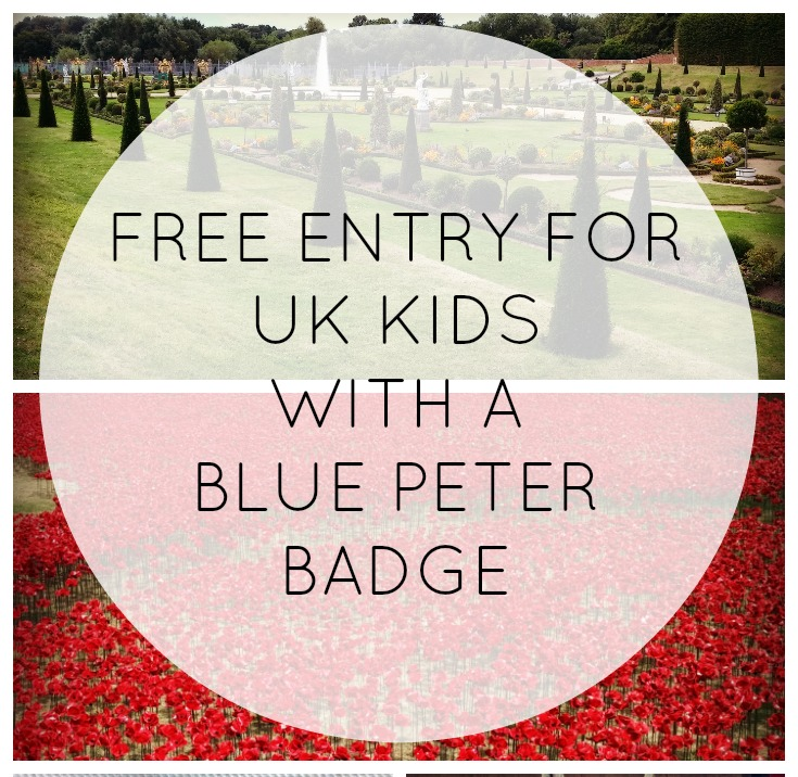 Get in Free with a Blue Peter Badge
