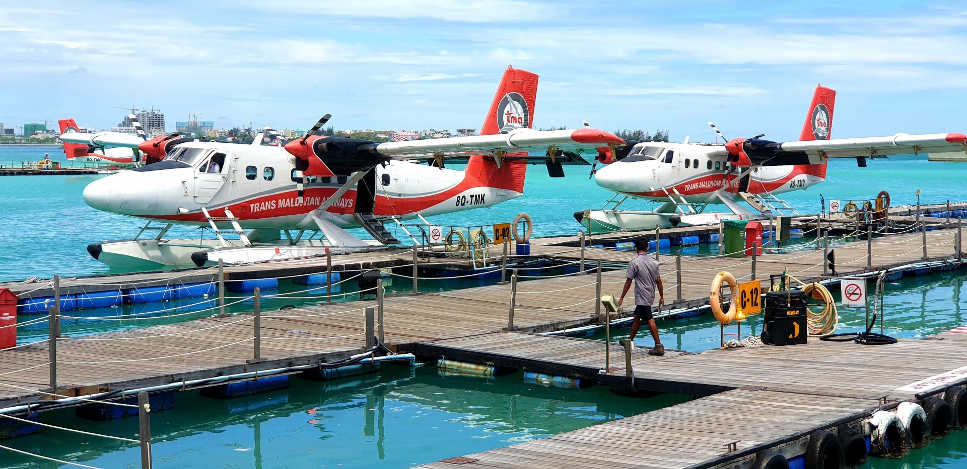 Seaplanes, Maldives