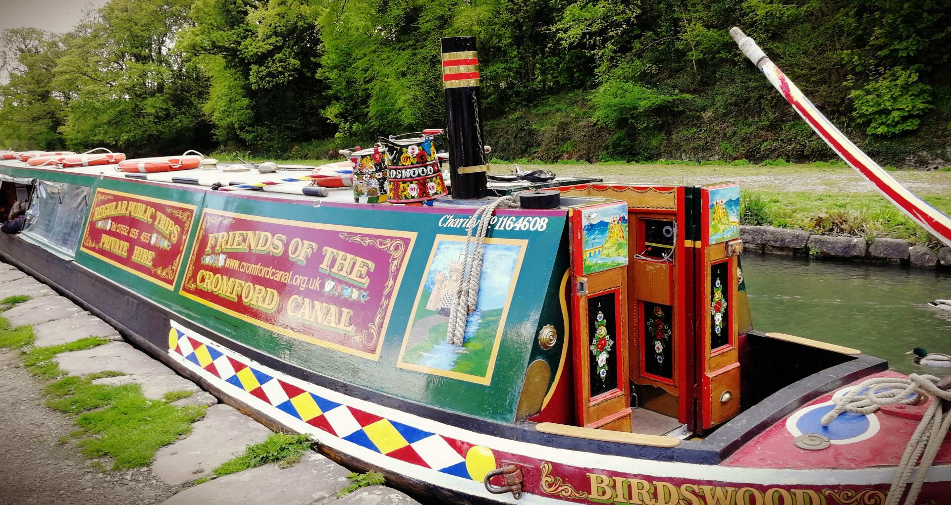Birdswood, Cromford Canal