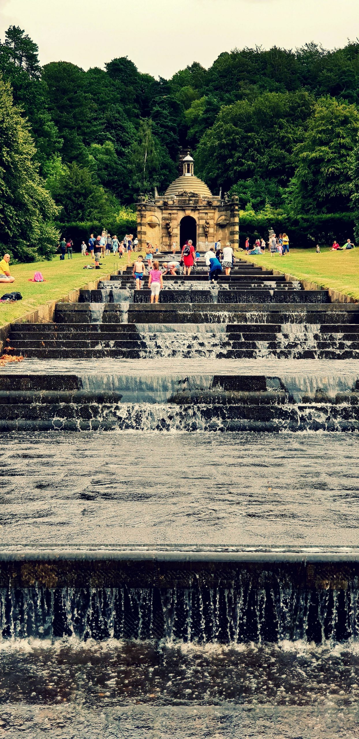 Cascade Steps, Chatsworth House